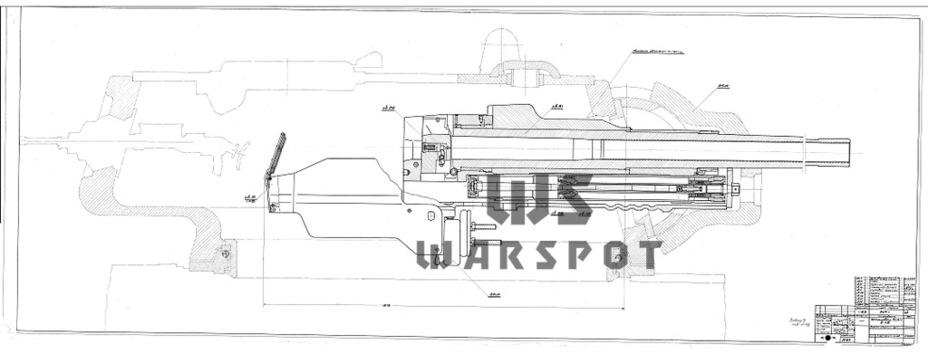 85-мм пушка ЗИК-1. Её разработали весной 1942 года для КВ-1 и Т-34, но дальше проекта дело не продвинулось - Теория бронетанковых заблуждений: первые годы Великой Отечественной | Warspot.ru