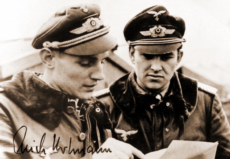 Номер один и номер два — Эрих Хартман и Герхард Баркхорн - Хартман над Яссами: фантазии в погоне за «мечами» | Warspot.ru