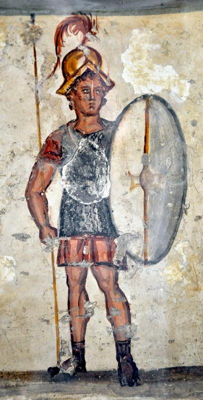Погребальная стела из Сидона с изображением писидийца Салмаса на египетской военной службе, II век до н.э. Археологический музей, Стамбул. Фото автора - Римляне в стране фараонов | Warspot.ru