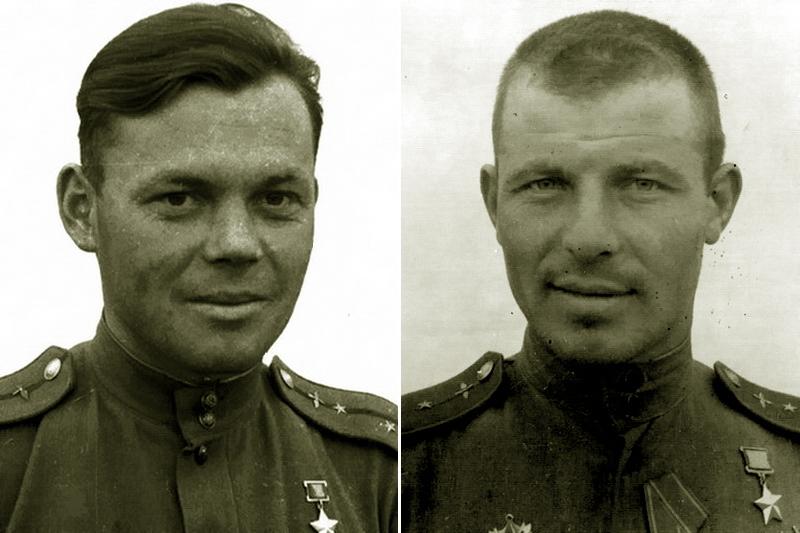 Ведущие 16-го гв.иап в бою 29 августа 1943 года Григорий Речкалов и Аркадий Фёдоров - «Эксперт за сотню» в обмен на двух Героев | Warspot.ru