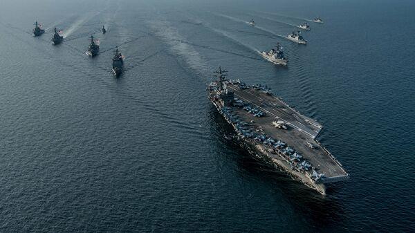 Авианосная группа ВМС США navy.mil - Уничтоженный авианосец и 20 тысяч погибших | Warspot.ru