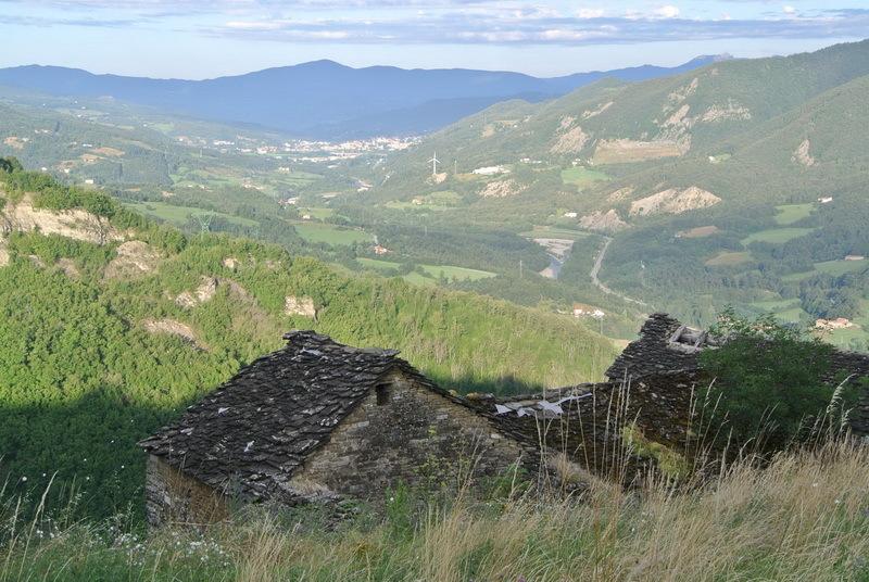 Горы в районе перевала Чиза, современный вид. piudimille.com - Яростная битва на реке Таро | Warspot.ru