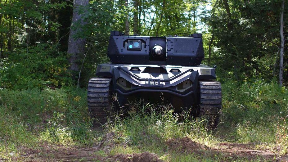 Роботизированная боевая машина Ripsaw M5 defence-blog.com - Американская армия заказала роботанки | Warspot.ru