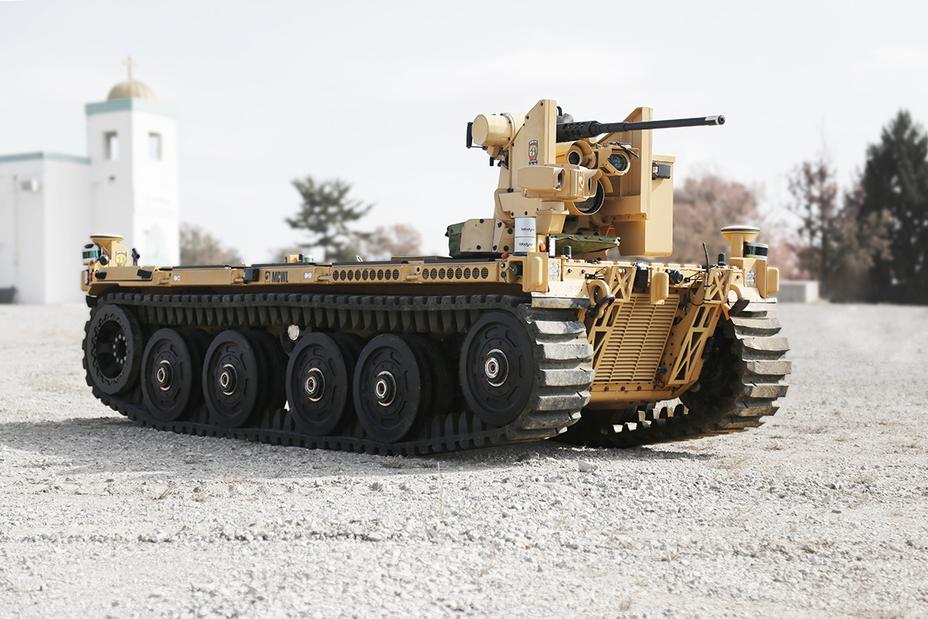 Боевой робот от QinetiQ qinetiq-na.com - Американская армия заказала роботанки | Warspot.ru
