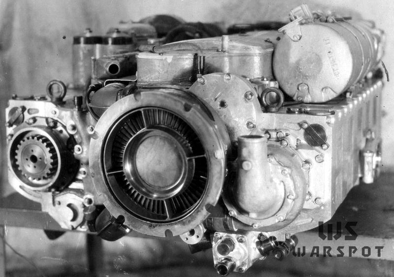 Двигатель 5ТДФ или изделие «457», вид со стороны турбины - Чистая «шестьдесятчетвёрка» | Warspot.ru