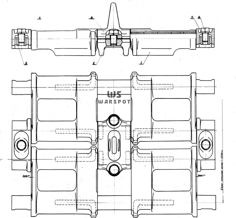 Гусеница танка «432» - Чистая «шестьдесятчетвёрка» | Warspot.ru