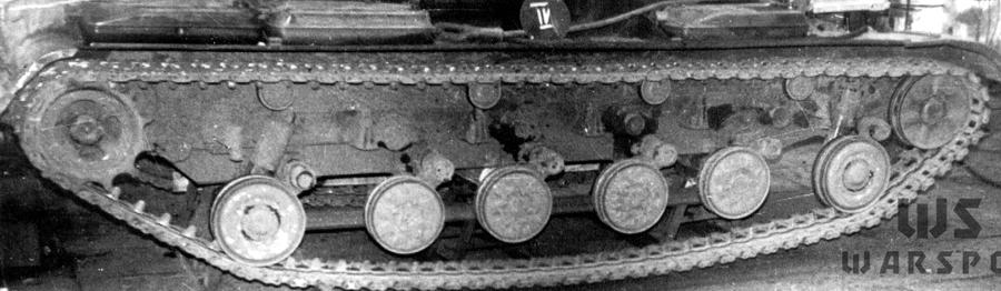 Гусеница танка «432» на испытаниях - Чистая «шестьдесятчетвёрка» | Warspot.ru