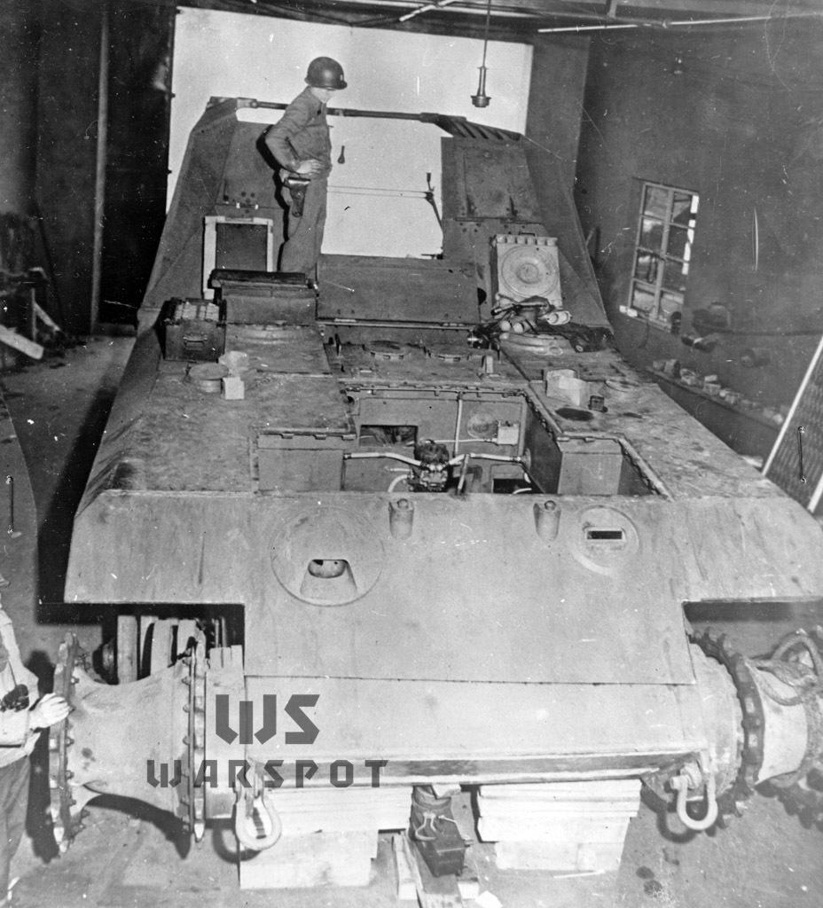 As such, the Geschützwagen Tiger für 17cm K72 (Sf) was captured in early May 1945 - Overgrowth Cricket |  Warspot.ru