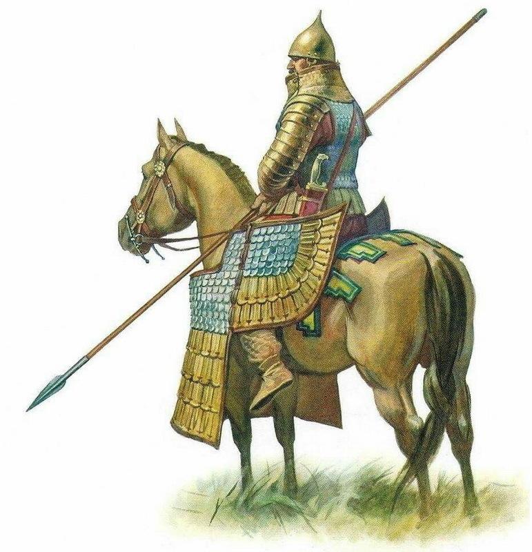 Тяжеловооружённый персидский всадник. pinterest.com - Агесилай в Малой Азии | Warspot.ru