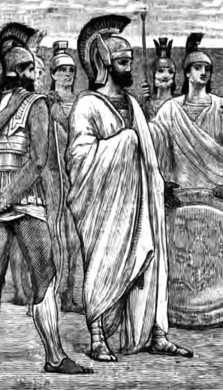 Спартанский царь Агесилай. commons.wikimedia.org - Агесилай в Малой Азии | Warspot.ru