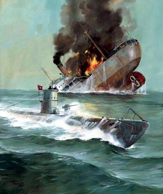 Подводные лодки Третьего Рейха в битве за Атлантику