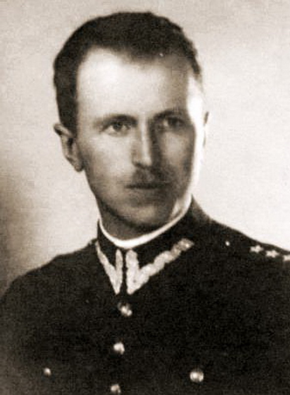 Капитан Мацей Каленкевич (псевдоним Котвич). commons.wikimedia.org - Потомок Завиши Чёрного | Warspot.ru