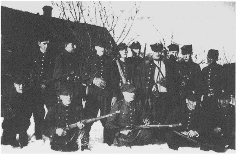 Отряд майора Хенрика Добжанского, зима 1940 года. commons.wikimedia.org - Потомок Завиши Чёрного | Warspot.ru