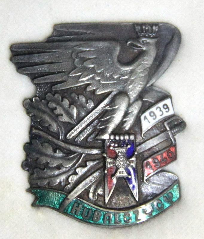 Знак «HUBALCZYCY 1939–1940», введённый в Польской Народной Республике для уцелевших солдат отряда. Всего было выпущено 56 экземпляров. commons.wikimedia.org - Потомок Завиши Чёрного | Warspot.ru