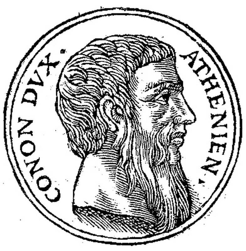 Конон. Изображение XVI века. commons.wikimedia.org - Последняя кампания Агесилая  | Warspot.ru