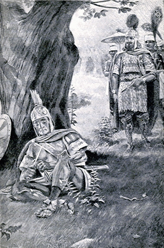 Встреча Агесилая и Фарнабаза. commons.wikimedia.org - Последняя кампания Агесилая  | Warspot.ru
