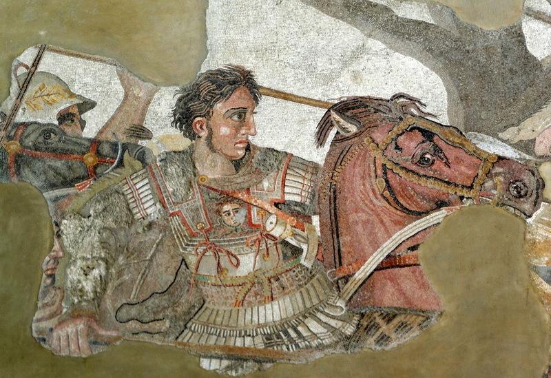 Мозаика из Помпей изображает Александра в сражении при Иссе. Оригиналом для мозаики, вероятно, послужила картина Филоксена из Эретрии. Если бы Александр прожил дольше, у художников было бы гораздо больше достойных сюжетов. commons.wikimedia.org
