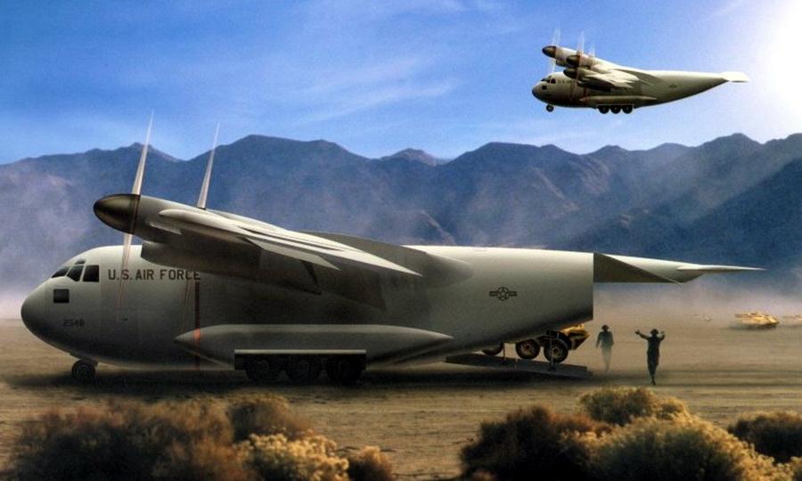 Проект перспективного тактического транспортного самолёта Boeing Model 3132 - В поисках равного для «Геркулеса» | Warspot.ru