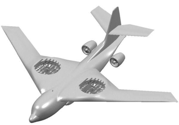 Вариант перспективного транспортного самолёта для программы AMC-X от Lockheed Martin с использованием подъёмных двигателей. Хорошо видно, что общая конструкция фюзеляжа при этом заимствована у C-130 - В поисках равного для «Геркулеса» | Warspot.ru
