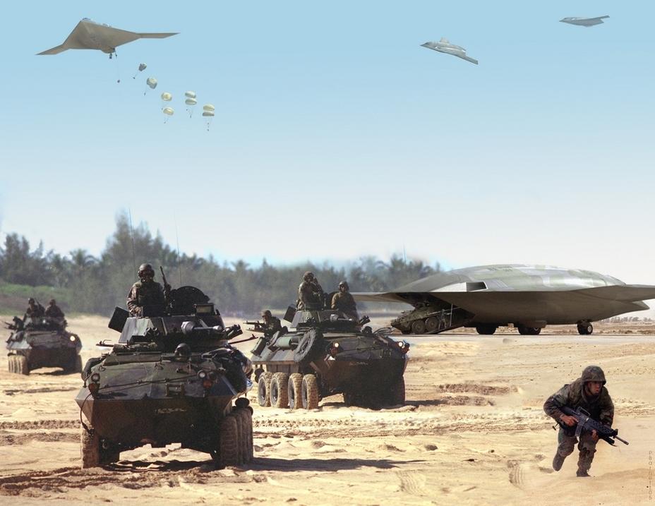 Проект перспективного транспортного самолёта в рамках программы AJACS от Northrop Grumman - В поисках равного для «Геркулеса» | Warspot.ru