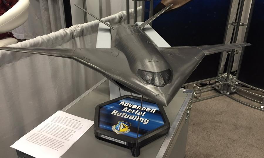 Модель перспективного малозаметного воздушного танкера, выполненная в AFRL. Хорошо заметно влияние программы Speed Agile - В поисках равного для «Геркулеса» | Warspot.ru