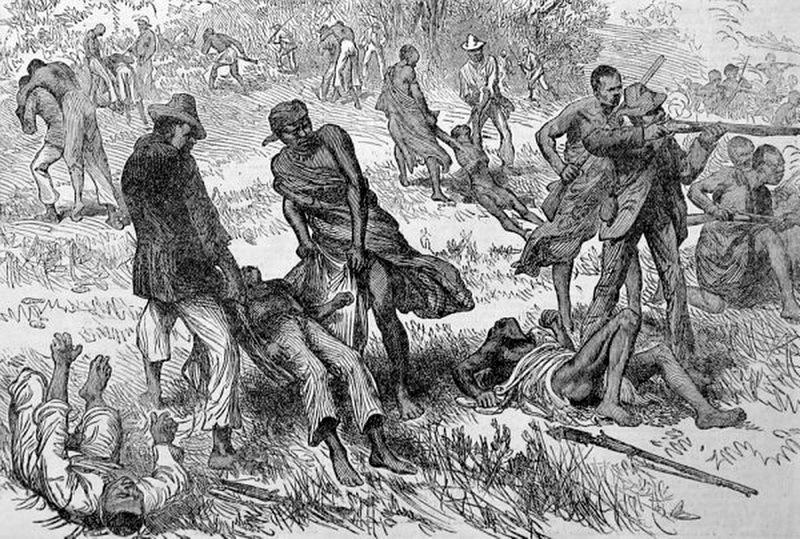 Стычка в Транскее. Источник: Keith Smith. The Wedding Feast War: The Final Tragedy of the Xhosa People. — Frontline Books, 2012