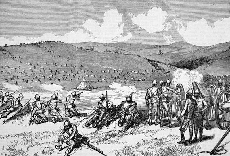 Бой у Комги. Источник: Keith Smith. The Wedding Feast War: The Final Tragedy of the Xhosa People. — Frontline Books, 2012