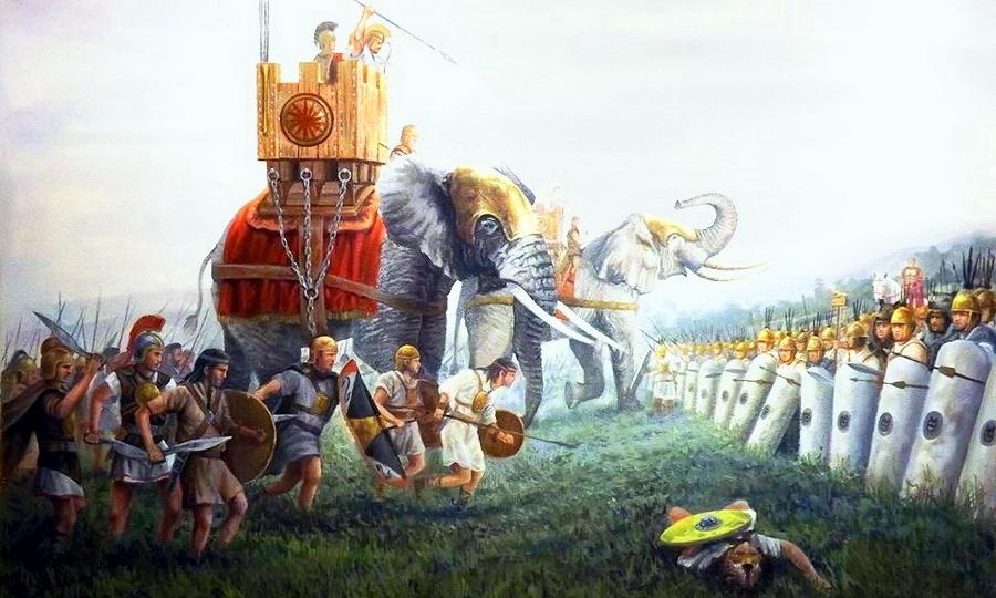Еще одно изображение битвы при Илипе. - Обречённый на гибель   Warspot.ru