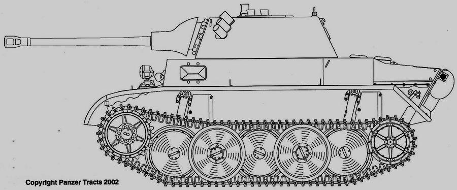 Pz.Kpfw.II Ausf.L «Лукс» с 50-мм орудием в облегчённой башне от VK 16.02 - Последние танки Третьего рейха | Warspot.ru