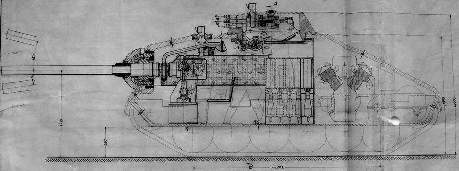 Schwerer kleiner Panzerkampfwagen со 105-мм пусковой установкой PAW 1000 - Последние танки Третьего рейха | Warspot.ru