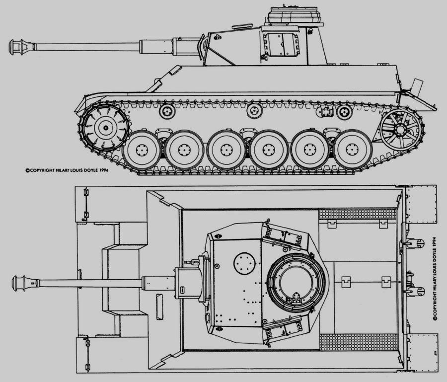 Pz.Kpfw.III/IV — средний танк на едином шасси - Последние танки Третьего рейха | Warspot.ru