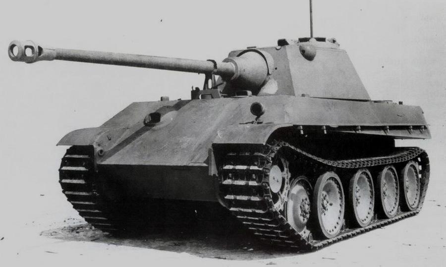 «Пантера» Ausf.G с башней «Шмальтурм». Примерно так выглядели бы и серийные «Пантеры» Ausf.F - Последние танки Третьего рейха | Warspot.ru