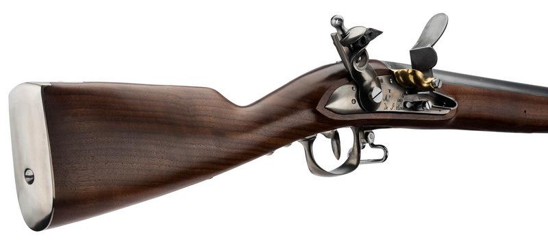 Приклад и кремнёвый замок французского мушкета образца 1777 года. europarm.fr - Кто убил Нельсона? | Warspot.ru