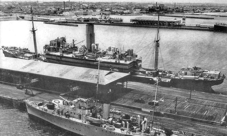 Вспомогательный крейсер «Гектор» в Мельбурне, 1940 год clydeships.co.uk - Последний успех японского флота   Warspot.ru