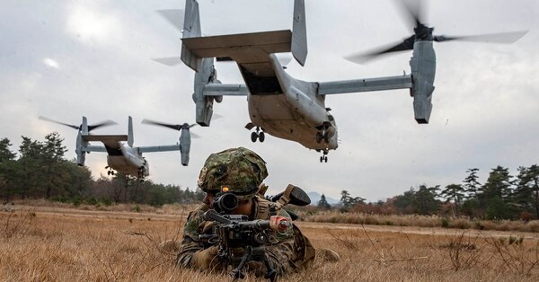 ​Конвертопланы MV-22 Osprey defensenews.com - Распродажа оружия по-американски: конвертопланы для Индонезии, бронетранспортёры для Аргентины | Warspot.ru