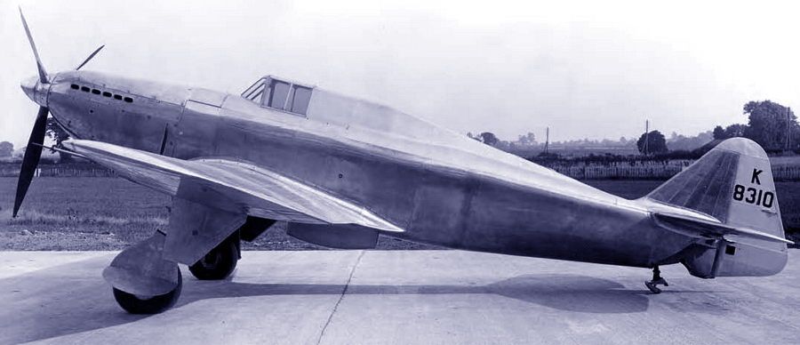 Первый прототип «Дефианта» с номером K8310 в первоначальном варианте - Летающие башни, или наследники ган-басов | Warspot.ru