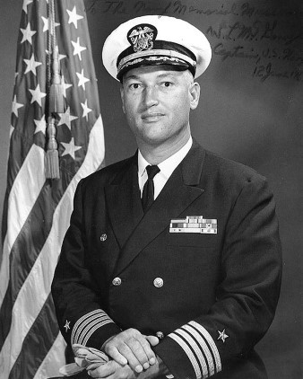 Командир «Либерти» кэптен Уильям Макгонел history.navy.mil - Тайна «Либерти» | Warspot.ru