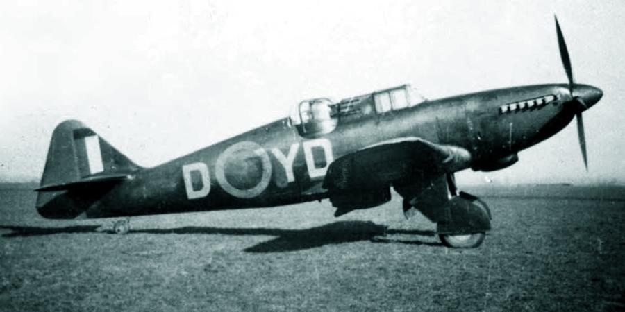 «Дефиант» Mk.I с серийным номером N3340 из состава 255-й эскадрильи, начало 1941 года - Новые роли турельного неудачника   Warspot.ru