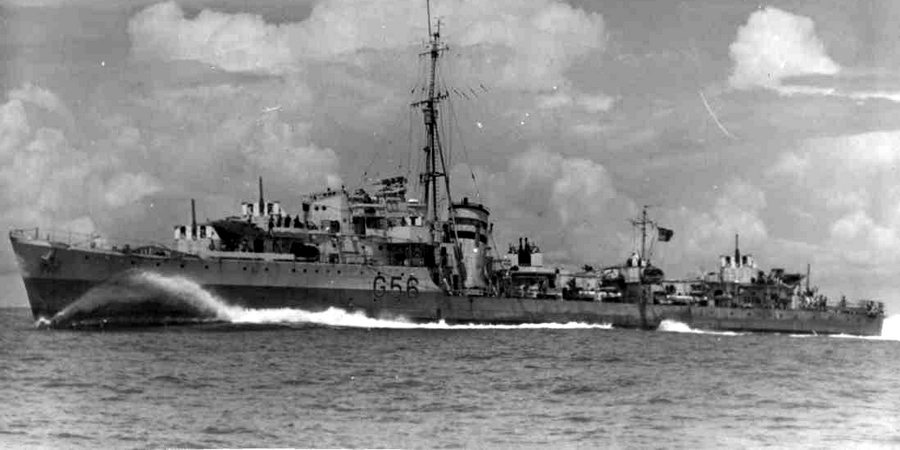 Британский эсминец «Петард» - «Приказ защищаться до последней возможности выполнен»   Warspot.ru