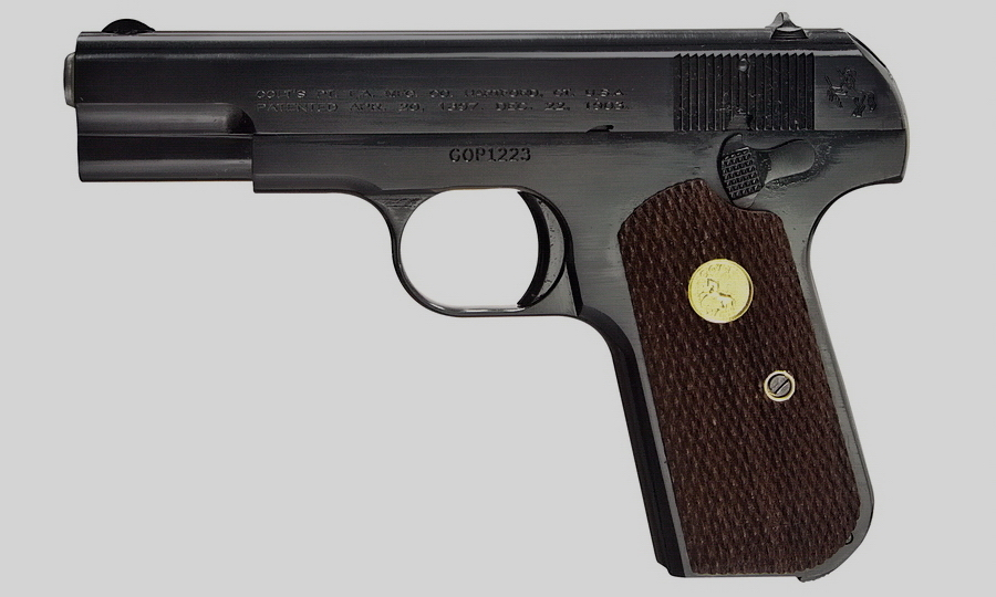 ​«Кольт» M1903 General Officer's pistol - Когда второй не хуже первого | Warspot.ru