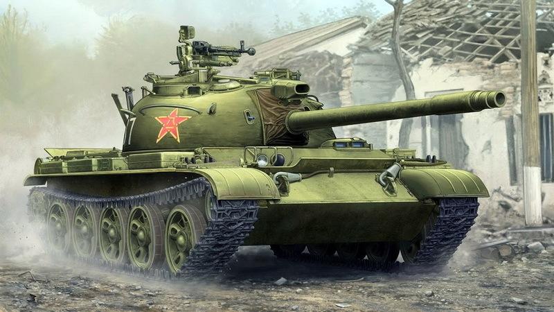 Type 62 — рабочая лошадка китайских танкистов в боях за Каобанг - Первая социалистическая война | Warspot.ru