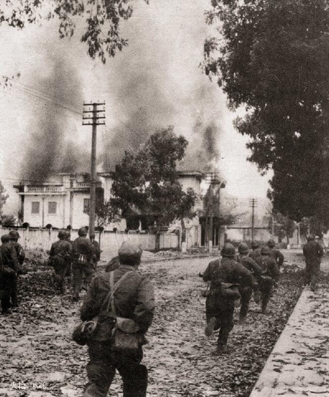 Китайские войска в Лангшоне - Первая социалистическая война | Warspot.ru