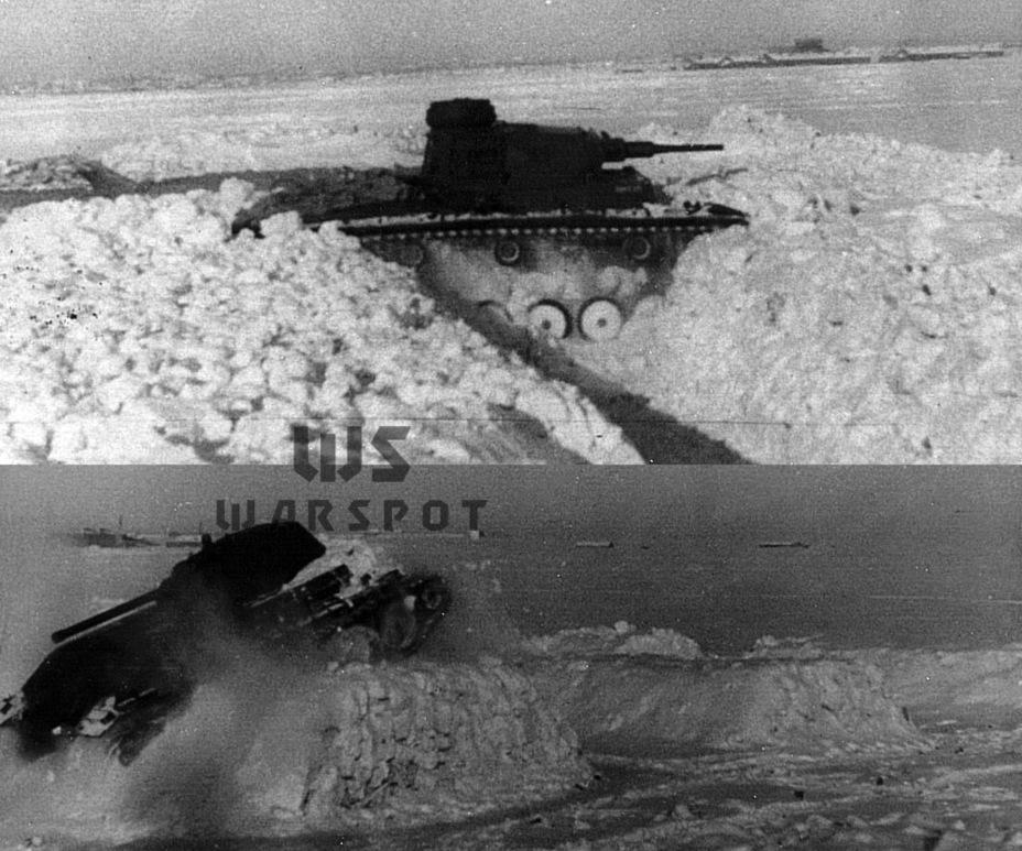 Наглядное сравнение проходимости танков-одноклассников. Если Pz.Kpfw.III проходил снежные валы за 16 минут, то Т-34 пробил их за 10 секунд - Рабочая лошадка Красной армии | Warspot.ru