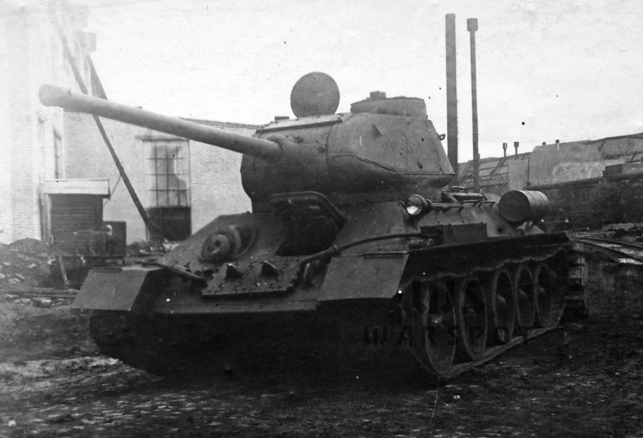 Т-34-85 стал наглядной демонстрацией того, что ресурсы данной базы ещё не были исчерпаны - Рабочая лошадка Красной армии | Warspot.ru