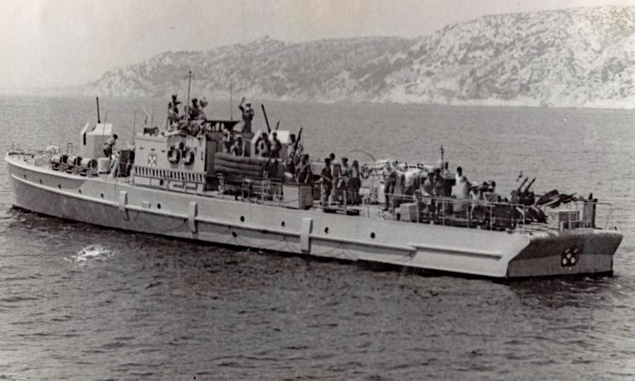Немецкий раумбот 11-й флотилии - Сломанная ось, или Охота на вчерашнего союзника   Warspot.ru