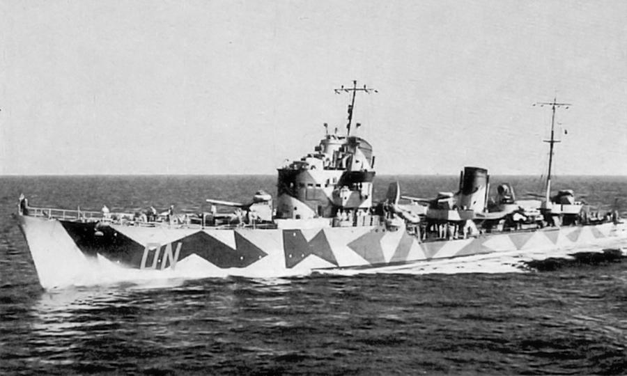 Итальянский эсминец «Антонио да Ноли» - Сломанная ось, или Охота на вчерашнего союзника   Warspot.ru