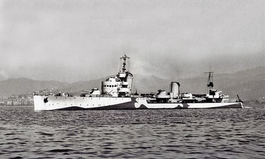 Итальянский эсминец «Вивальди» - Сломанная ось, или Охота на вчерашнего союзника   Warspot.ru