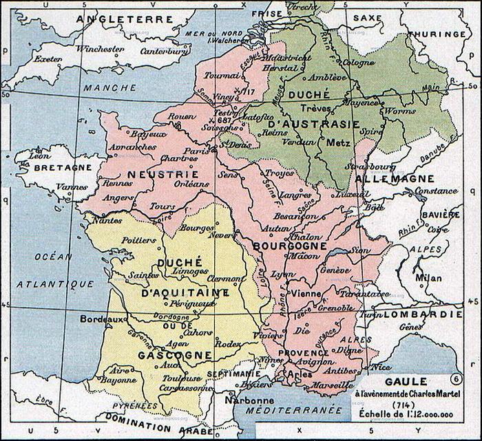 Королевство франков - Главная битва христианской Европы   Warspot.ru