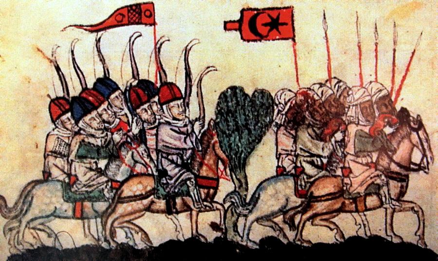 Арабские воины - Главная битва христианской Европы   Warspot.ru