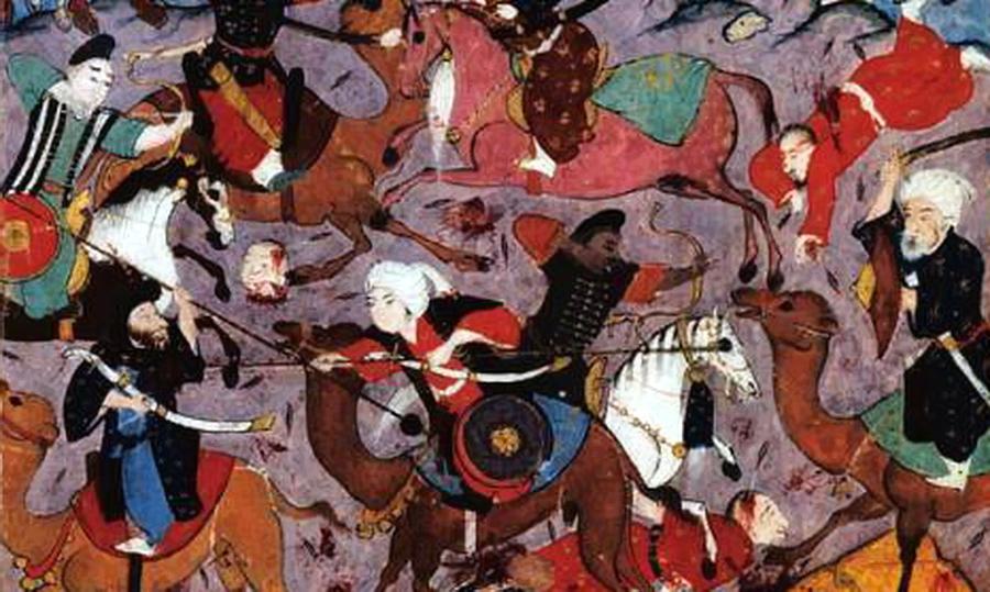 Арабские конные лучники - Главная битва христианской Европы   Warspot.ru